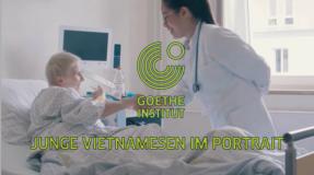 Junge Vietnamesen im Portrait